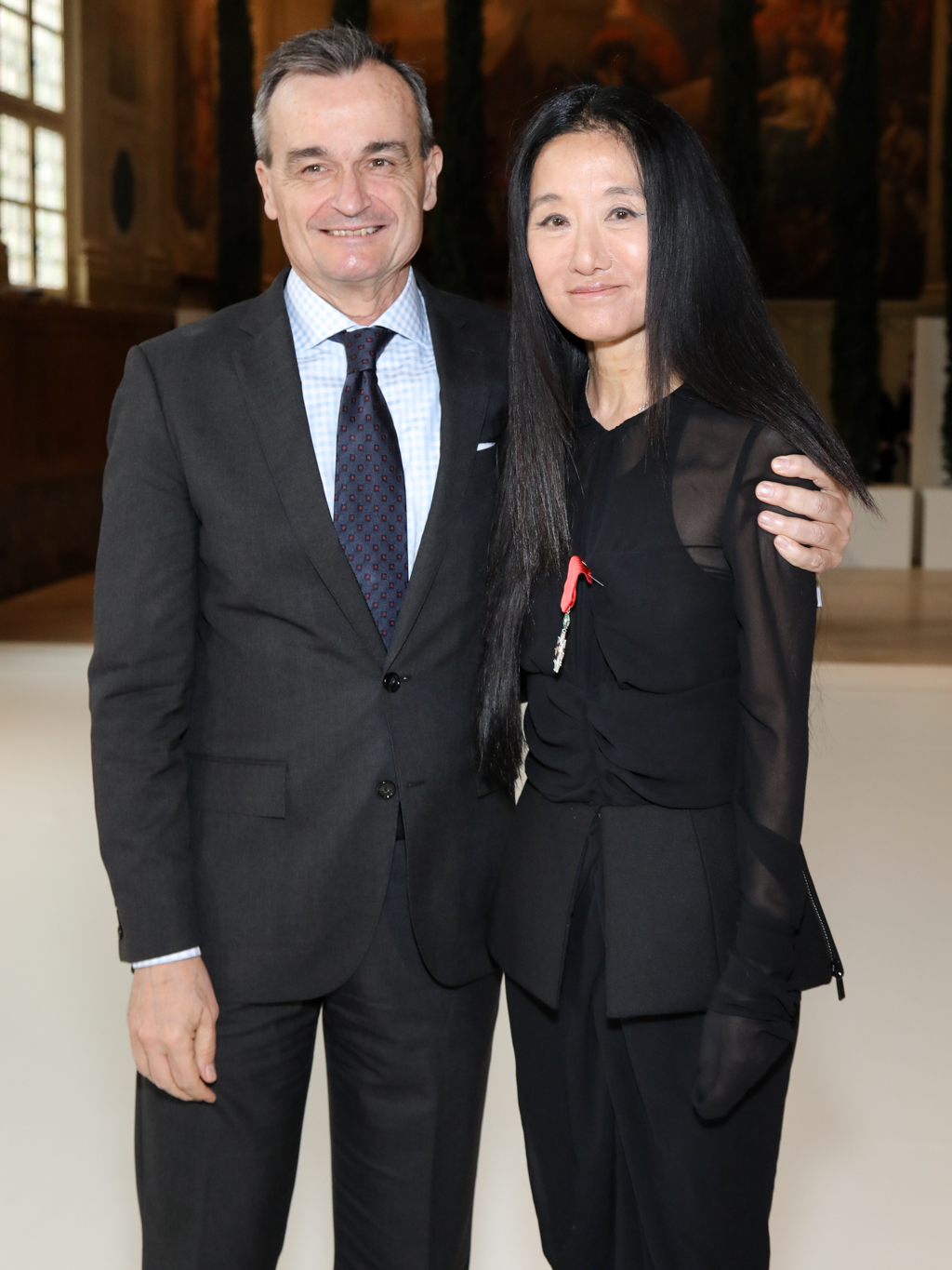 Gérard Araud and Vera Wang