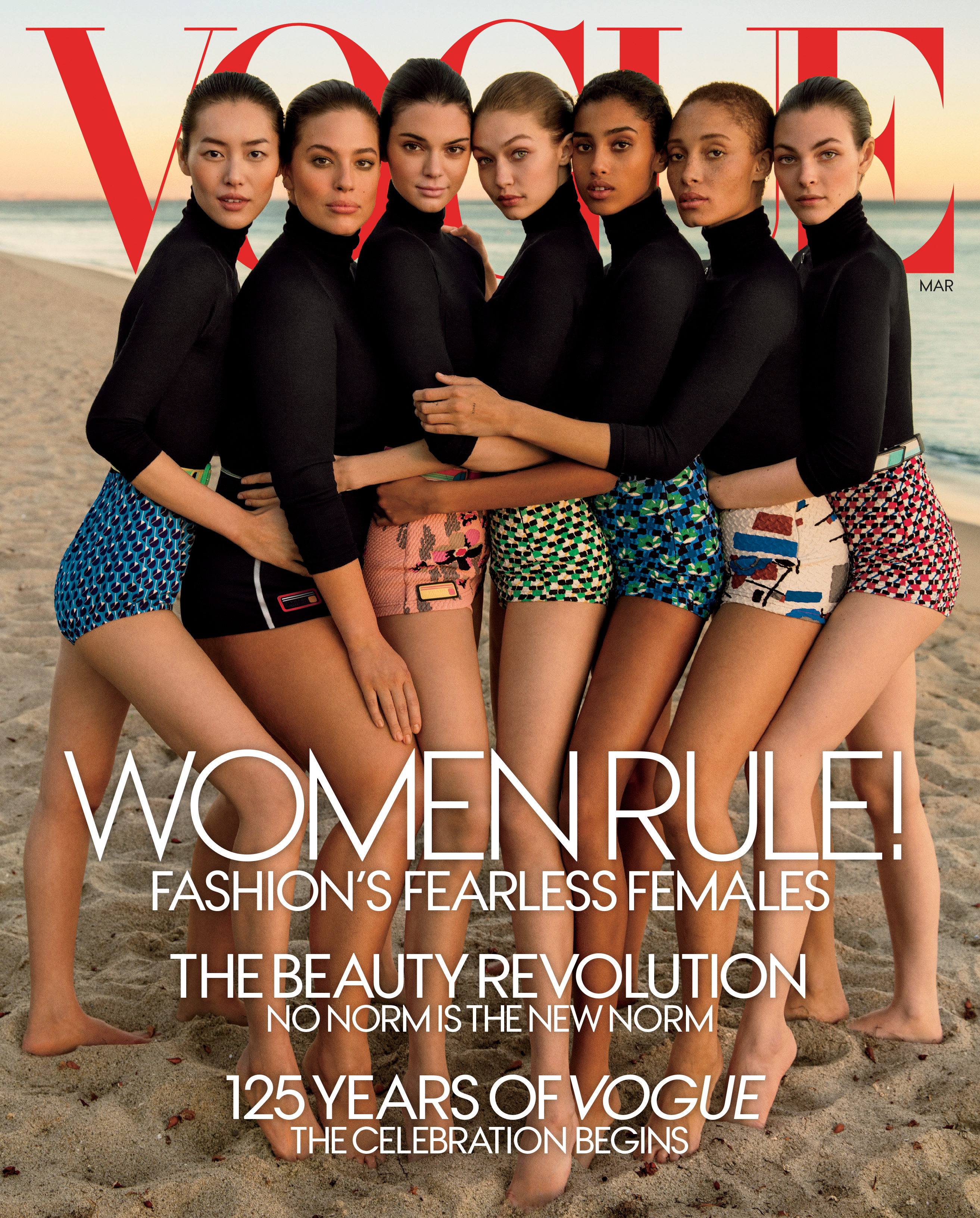 Ashley Graham Is The First Plus Size Model On The Cover Of Vogue U S Wwd