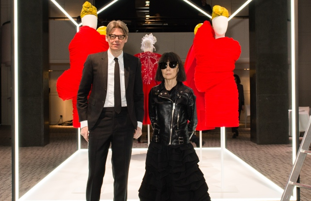 Andrew Bolton and Rei Kawakubo