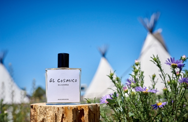 El Cosmico wil be one of the ten perfumes highlighted in the exhibition