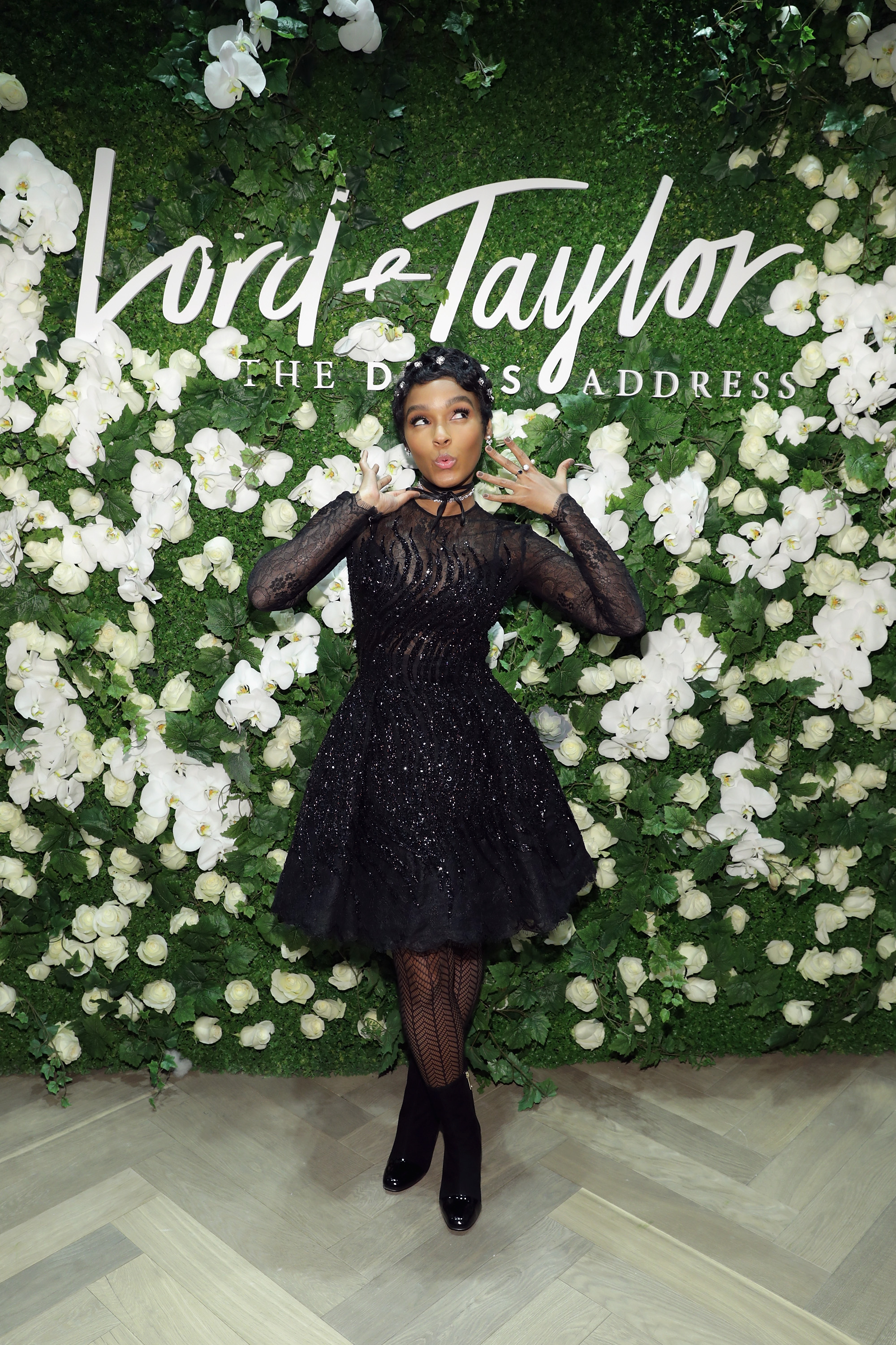 NEW YORK, NY - MARCH 23: Janelle Monae and Lord & Taylor celebrate The Dress Address at Lord & Taylor 5th Avenue on March 23, 2017 in New York City. (Photo by Cindy Ord/Getty Images for Lord & Taylor) *** Local Caption *** Janelle Monae