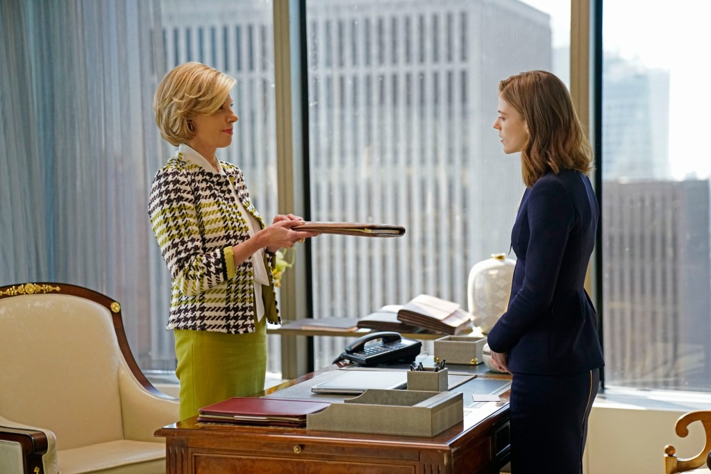 Christine Baranski and Rose Leslie in 'The Good Fight'