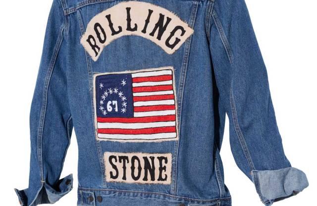 Levis Rolling Stone magazine Type III trucker jacket