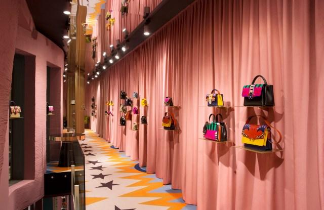 Paula Cademartori temporary store in Milan