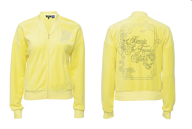 """Juicy Couture's """"Beauty and the Beast"""" Westwood jacket."""
