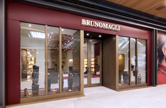 The Bruno Magli store at the Brickell City Centre in Miami.
