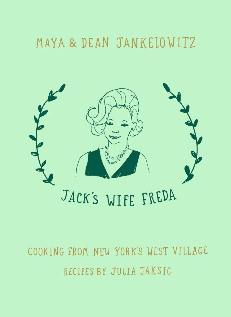 """""""Jack's Wife Freda"""" cookbook."""