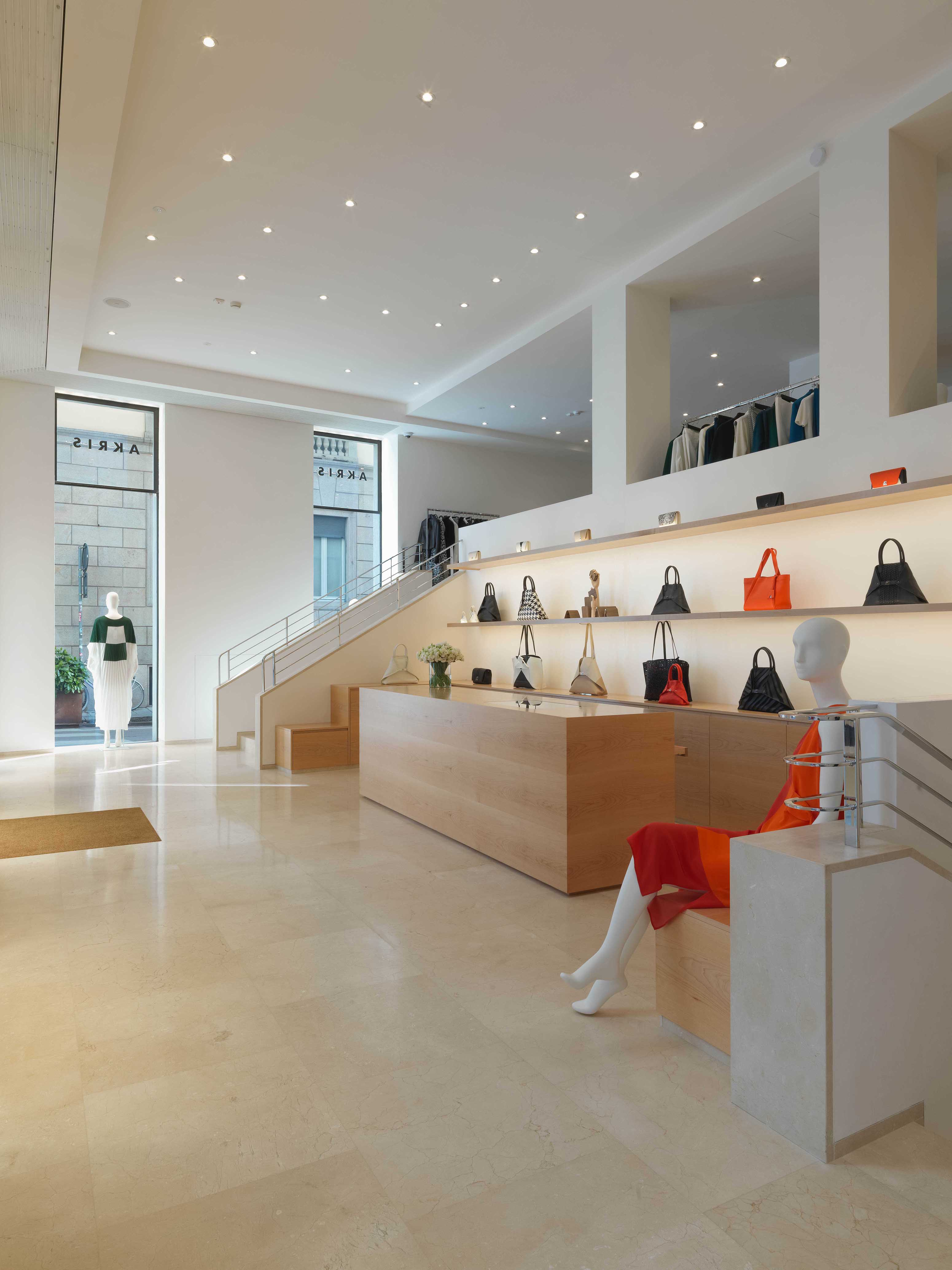 Akris Milan boutique