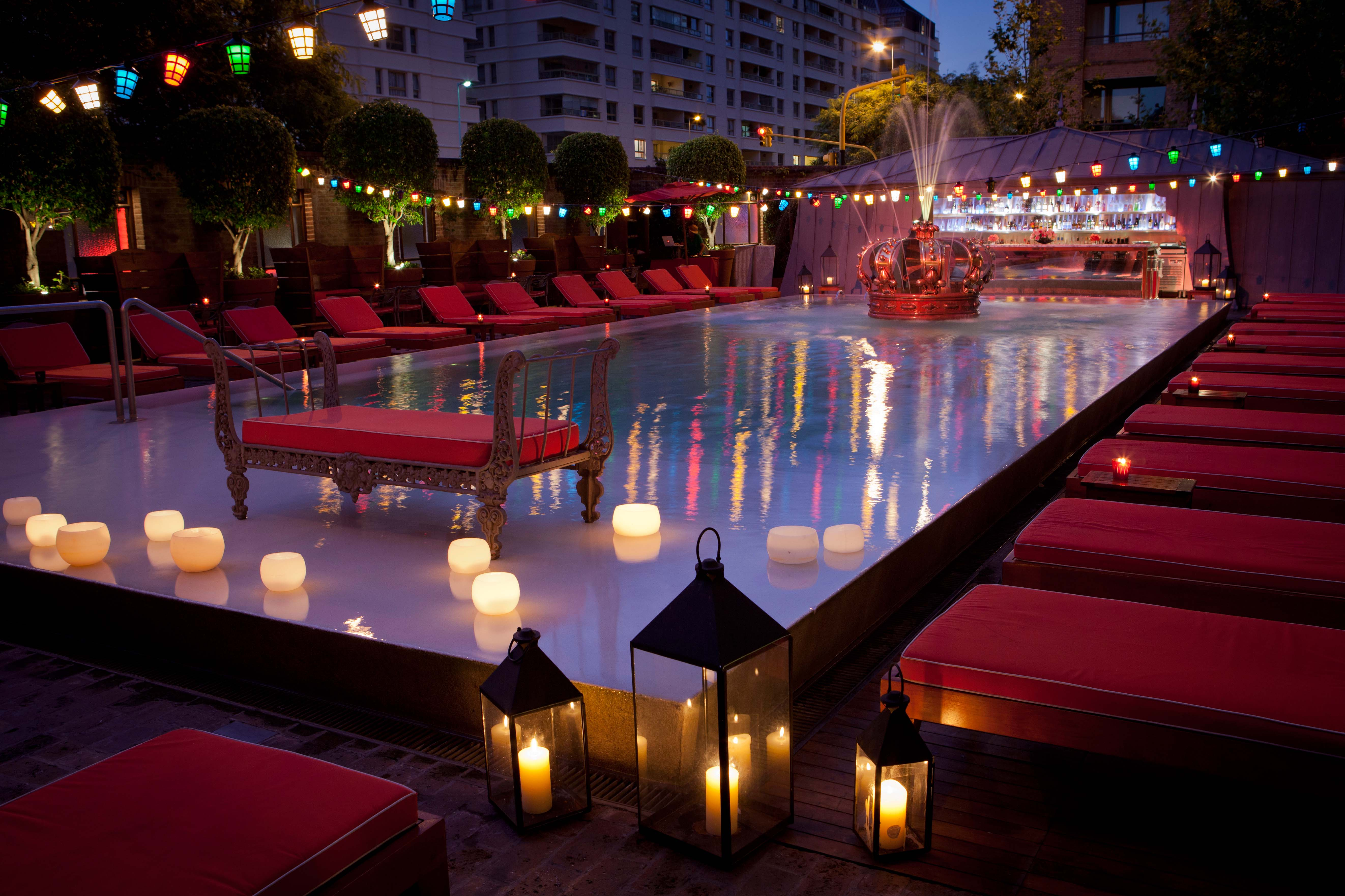 The pool at Faena Buenos Aires.