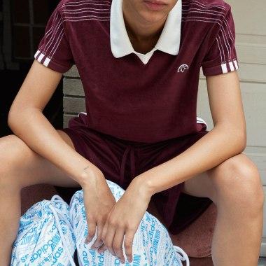 A look from Adidas Originals x Alexander Wang.