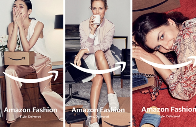 Amazon Fashion Spring campaign.