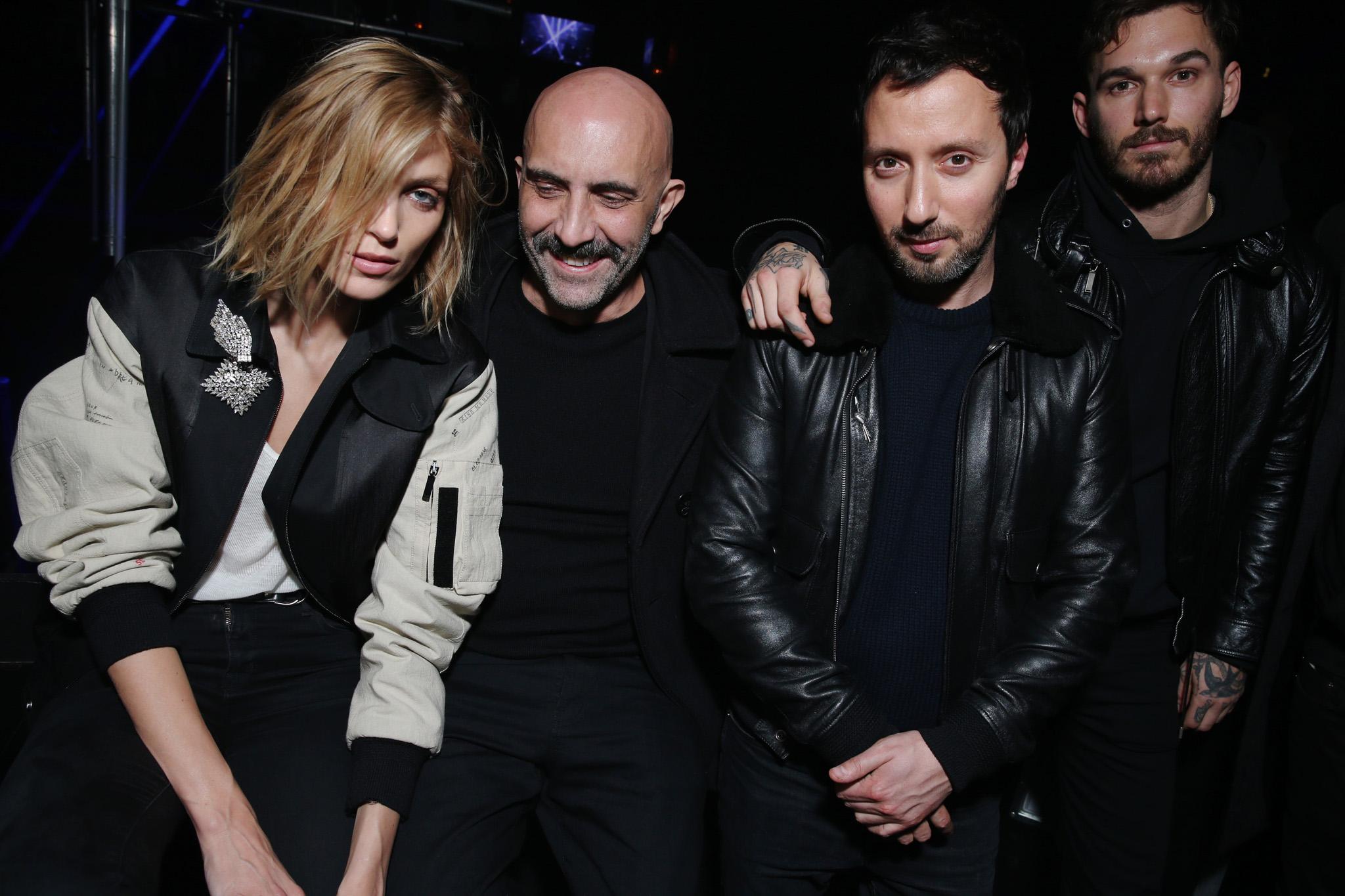 Anja Rubik, Gaspar Noé, Anthony Vaccarello & David Alexander Flinn