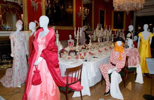 fashion exhibition Chatsworth House