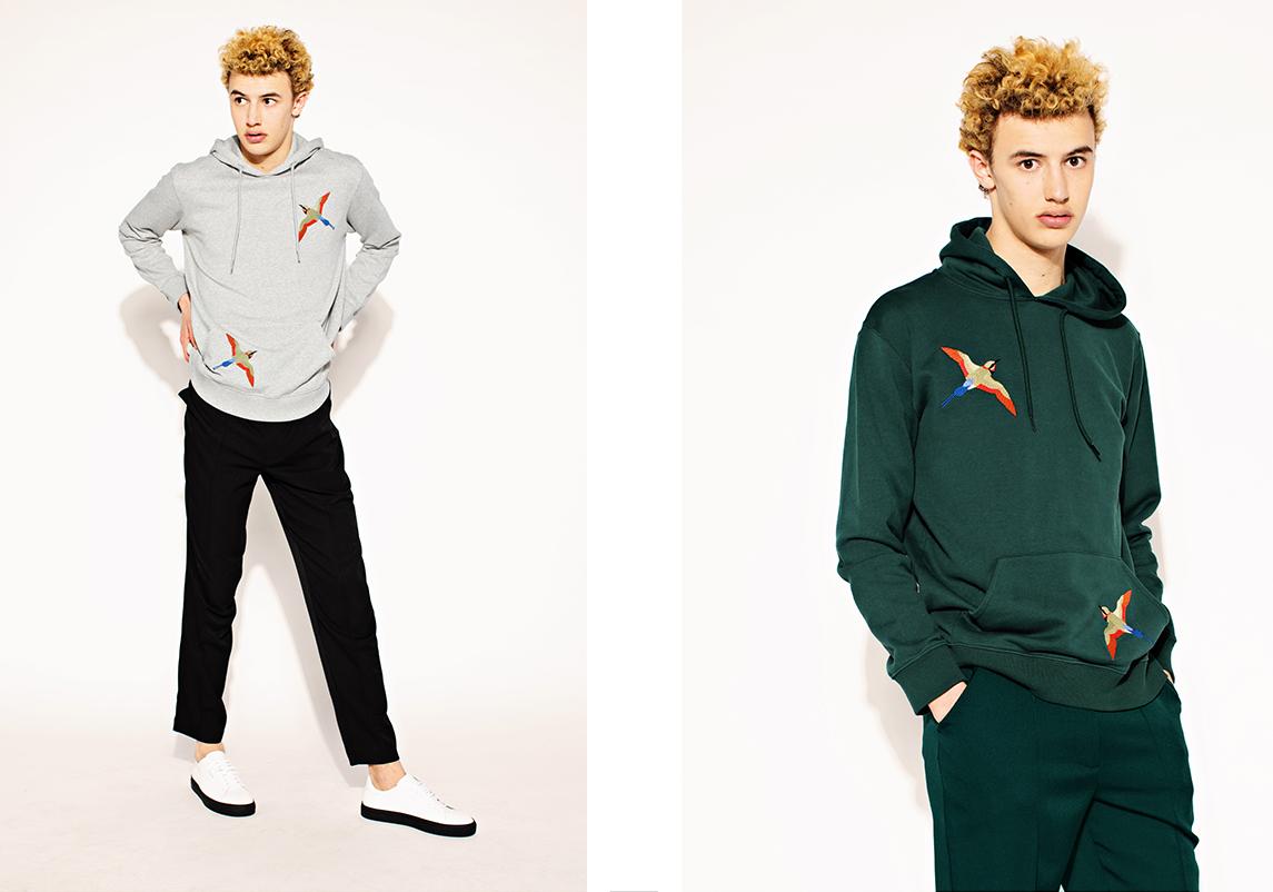 Looks from Axel Arigato's men's wear range