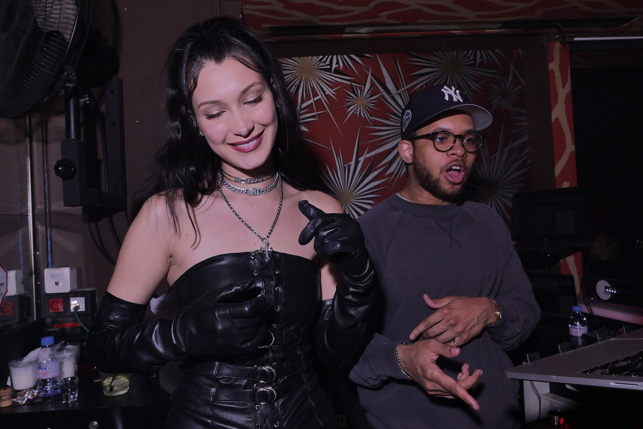 Bella Hadid and DJ Chase B