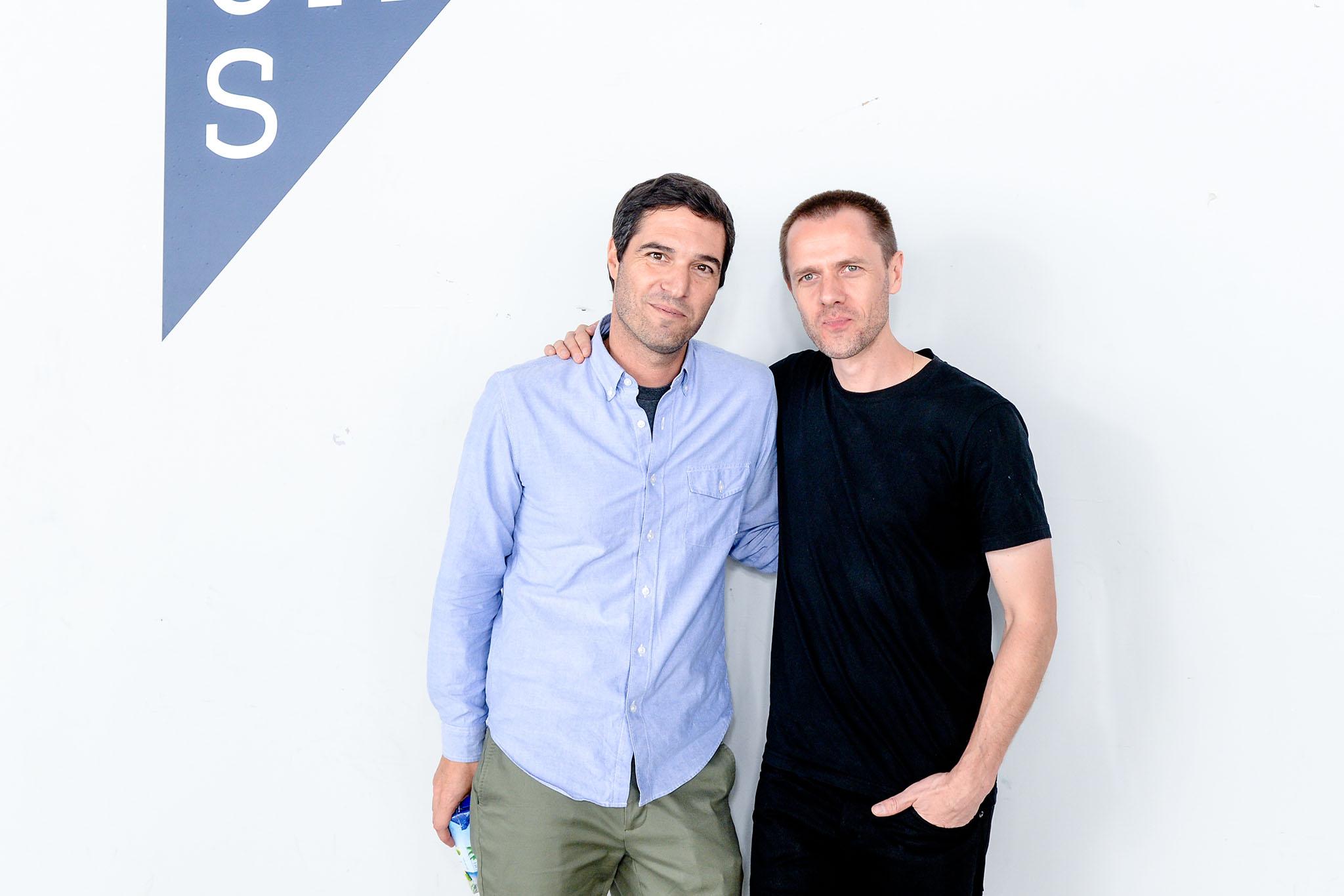 Ben Pruess, Tim CoppensUAS Collection 01 presentation, Fulton Market Building, New York Fashion Week, USA - 15 Sep 2016