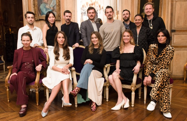 This season's designers at the CFDQ qnd Vogue Fqshion Fund's Americans in Paris showcase.