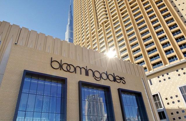 The Bloomingdales store in Dubai.
