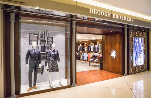 Brooks Brothers in Beijing.