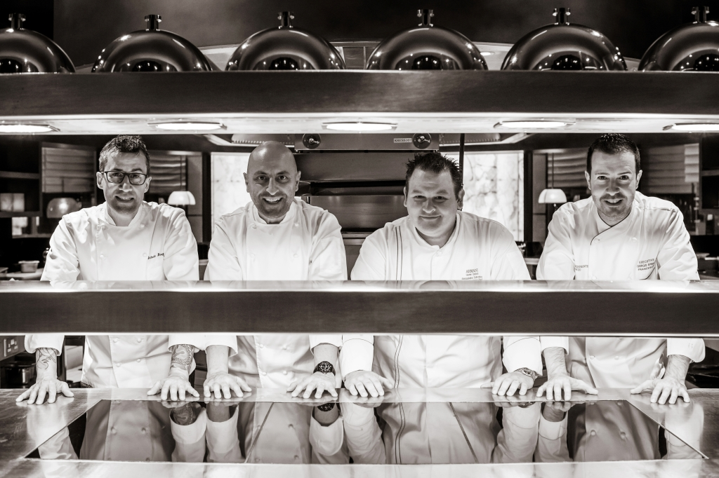 The four chefs