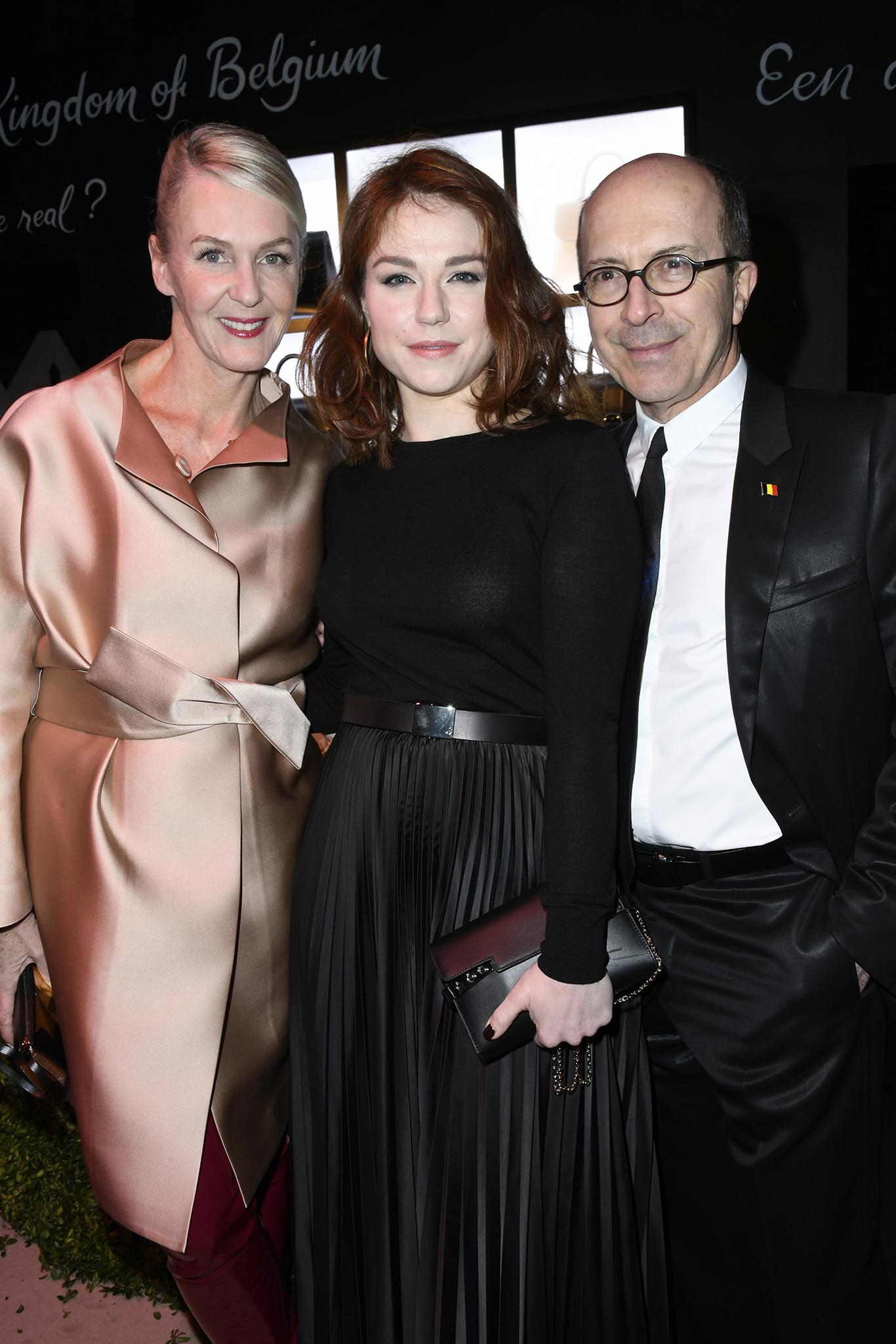 Christina Zeller, Emilie Dequenne and Jean-Marc Loubier