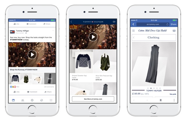 Facebook colection Tommy Hilfiger