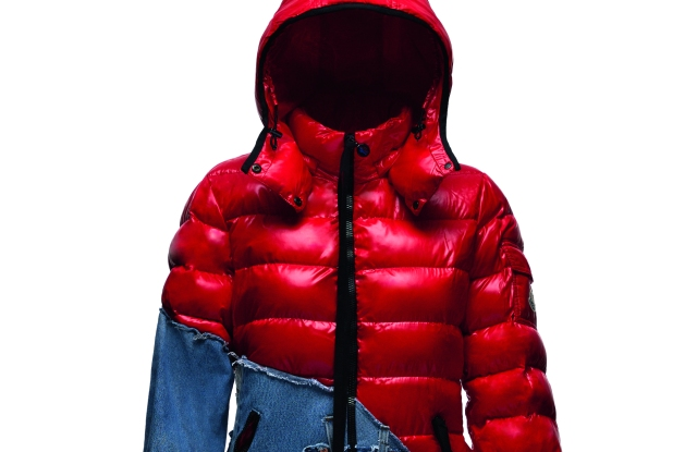 A look from the Collide Greg Lauren & Moncler collection