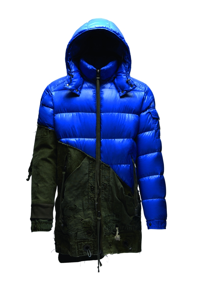 A look from the Collide Greg Lauren & Moncler collaboration