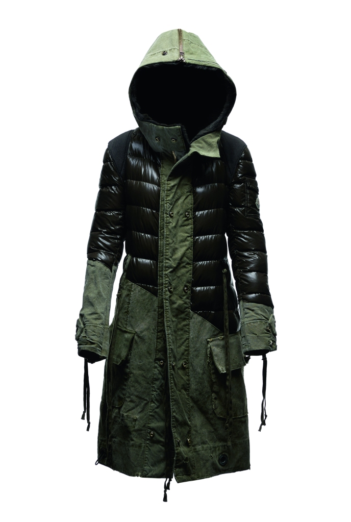 A look from the Collide Greg Lauren and Moncler collaboration
