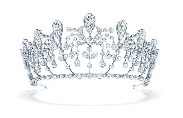 Chaumet's Bourbon-Parma tiara.