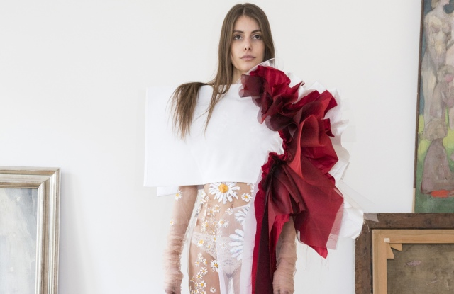 A look from Dorhout Mees' RTW Fall 2017