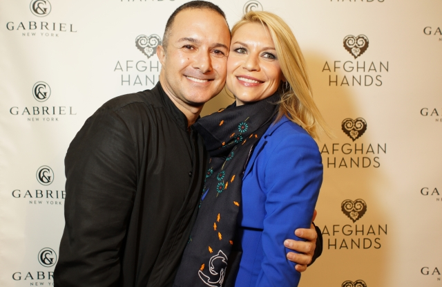 Claire Danes and Matin Maulawizada