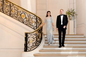 Catherine Duchess of Cambridge and Prince WilliamPrince William and Catherine Duchess of Cambridge visit to Paris, France - 17 Mar 2017