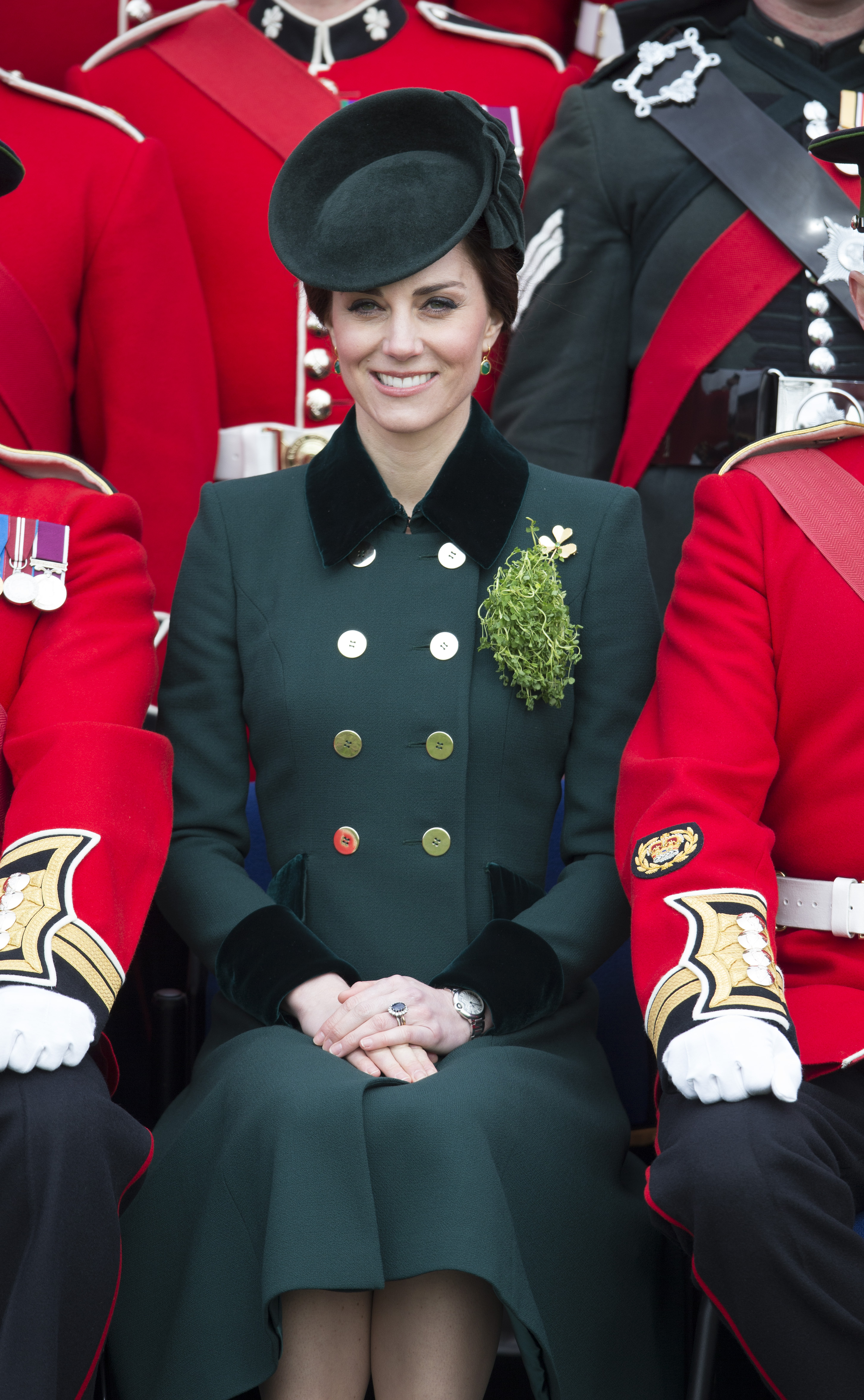 The Duchess of Cambridge in Catherine Walker