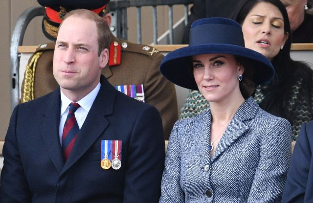 The Duke and Duchess of Cambridge (in Michael Kors Collection)