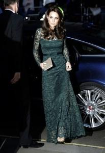 The Duchess of Cambridge in Temperley London