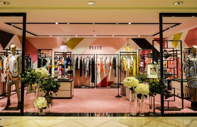 The Emilio Pucci store in Korea