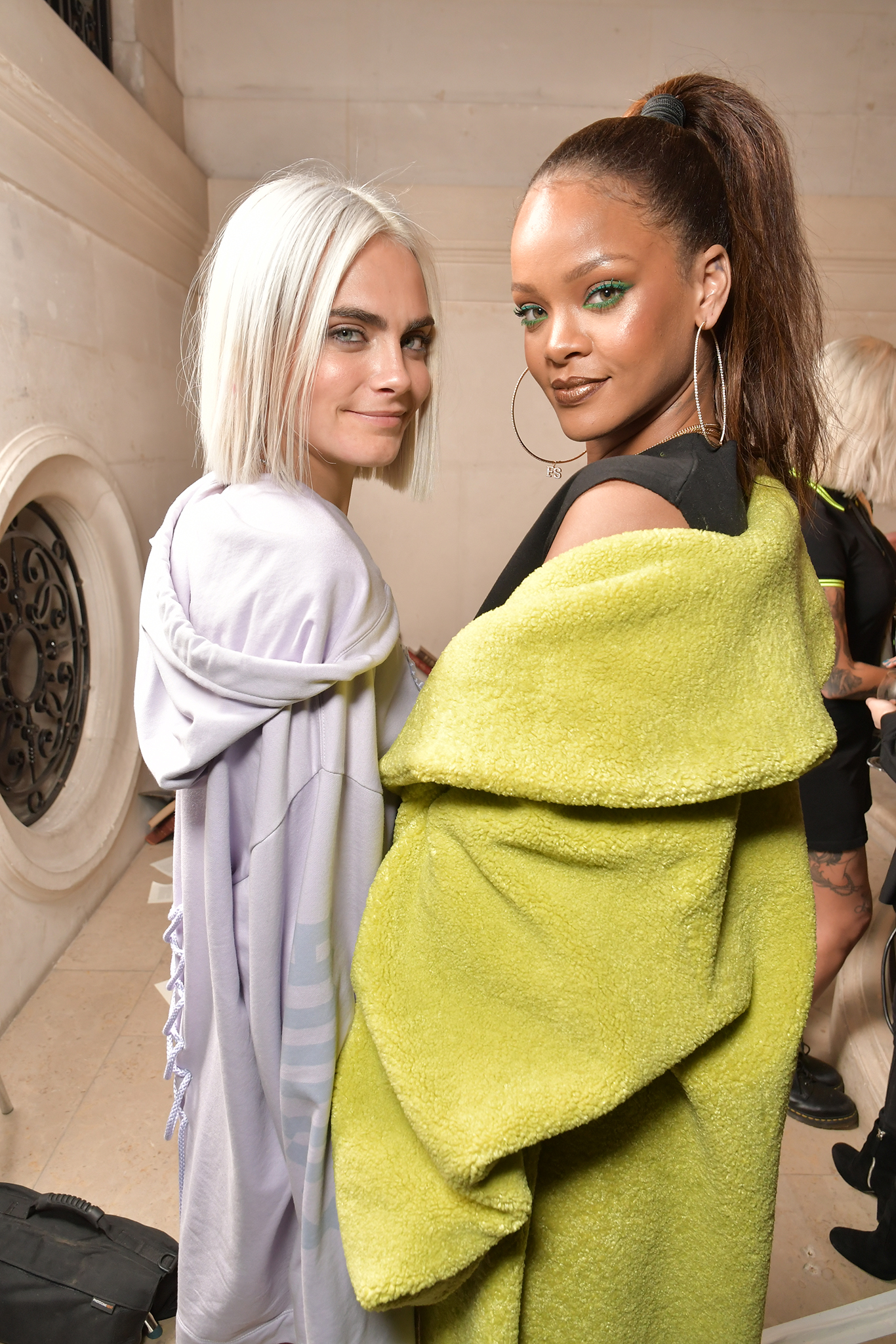 Cara Delevingne and Rihanna