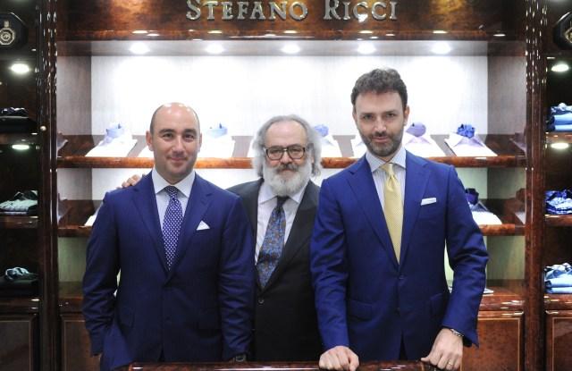 Filippo, Stefano and Niccolo Ricci