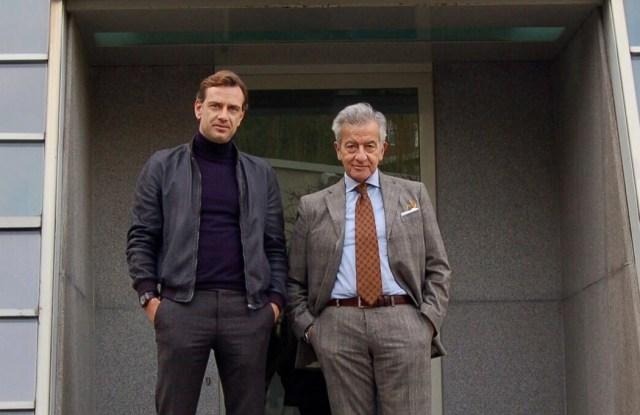 Guglielmo Miani and Manlio Massa