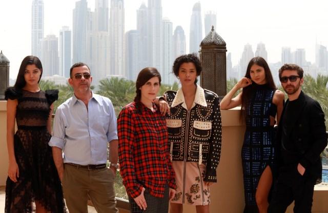 Antonio Berardi, Laura Mulleavy of Rodarte and David Koma  showcased their latest collections in Dubai to private clients.