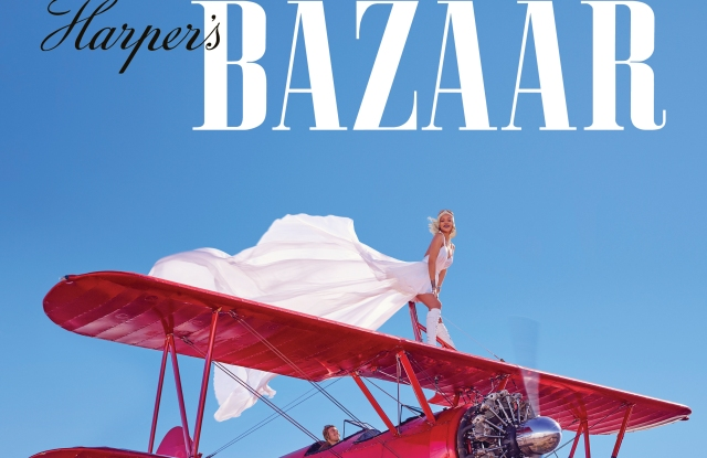 Rihanna fronts Bazaar's March Issue.