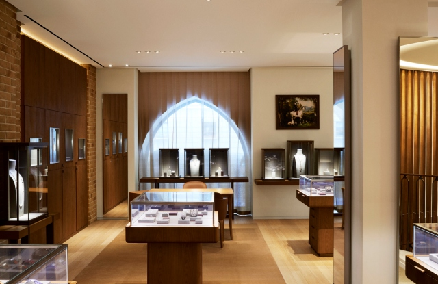 The women's jewelry department