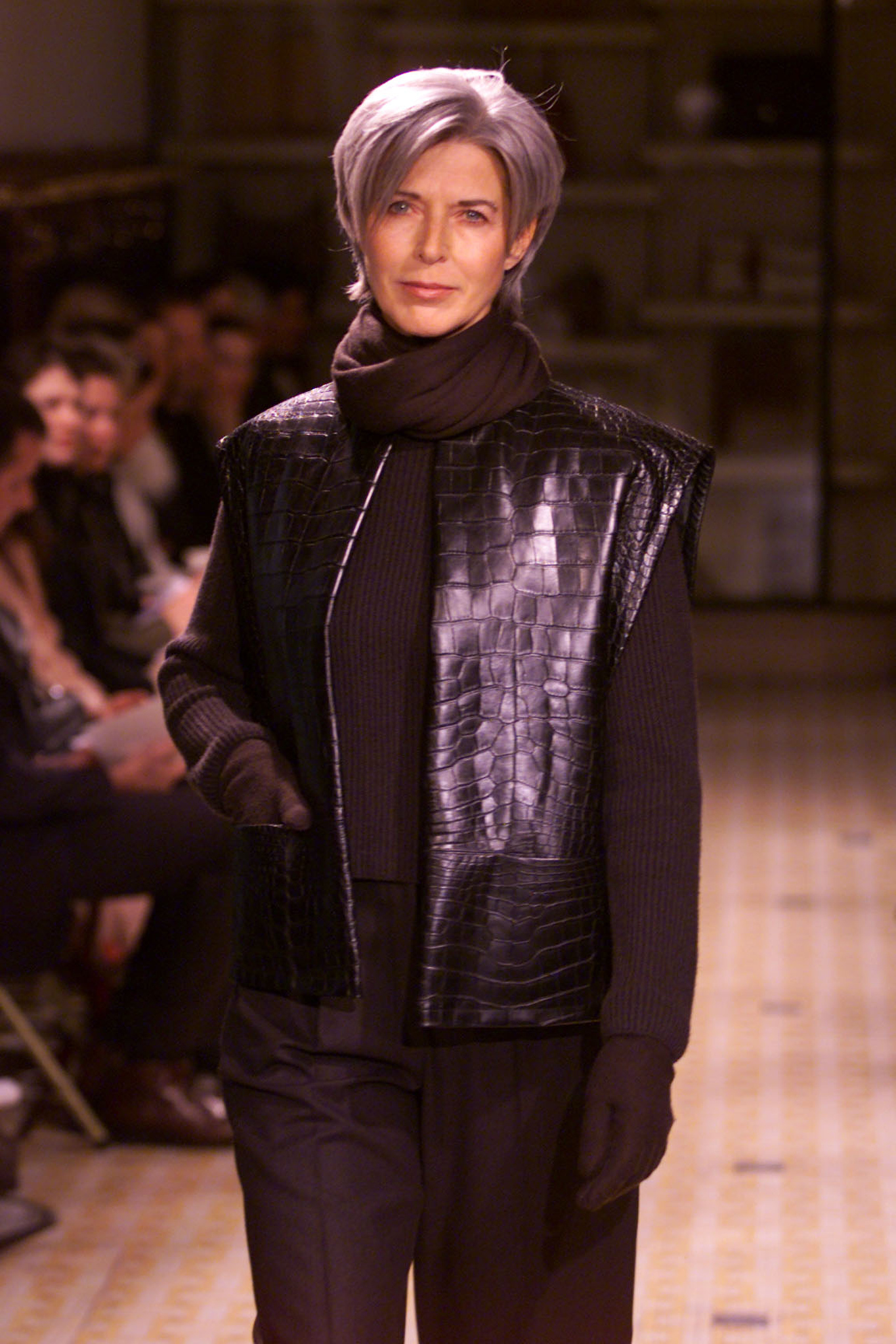 A look from Hermès Fall 2000 collection designed by Martin Margiela