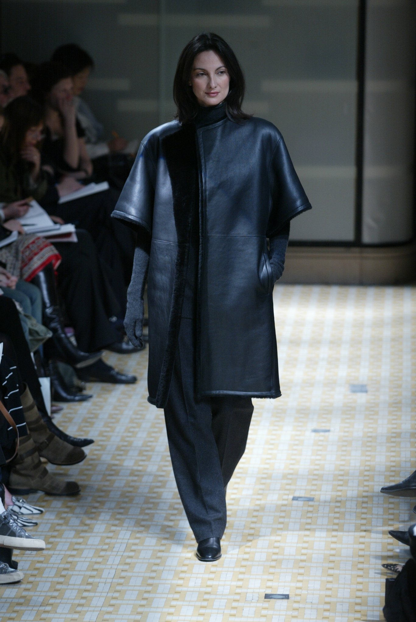 A look from Hermès Fall 2003 collection