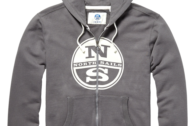 A North Sails hoodie