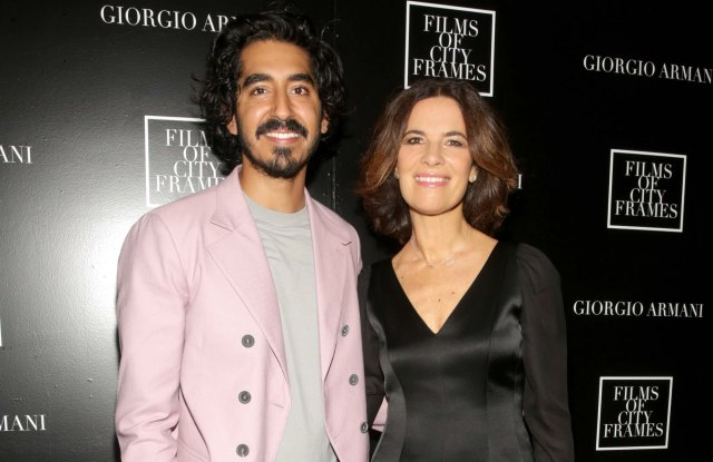 AUSTIN, TX - MARCH 11:  Dev Patel and Roberta Armani attend the third edition of Films of City Frames presented by Giorgio Armani at South by Southwest on March 11, 2017 in Austin, Texas. (Photo by Roger Kisby/Getty Images for Giorgio Armani)