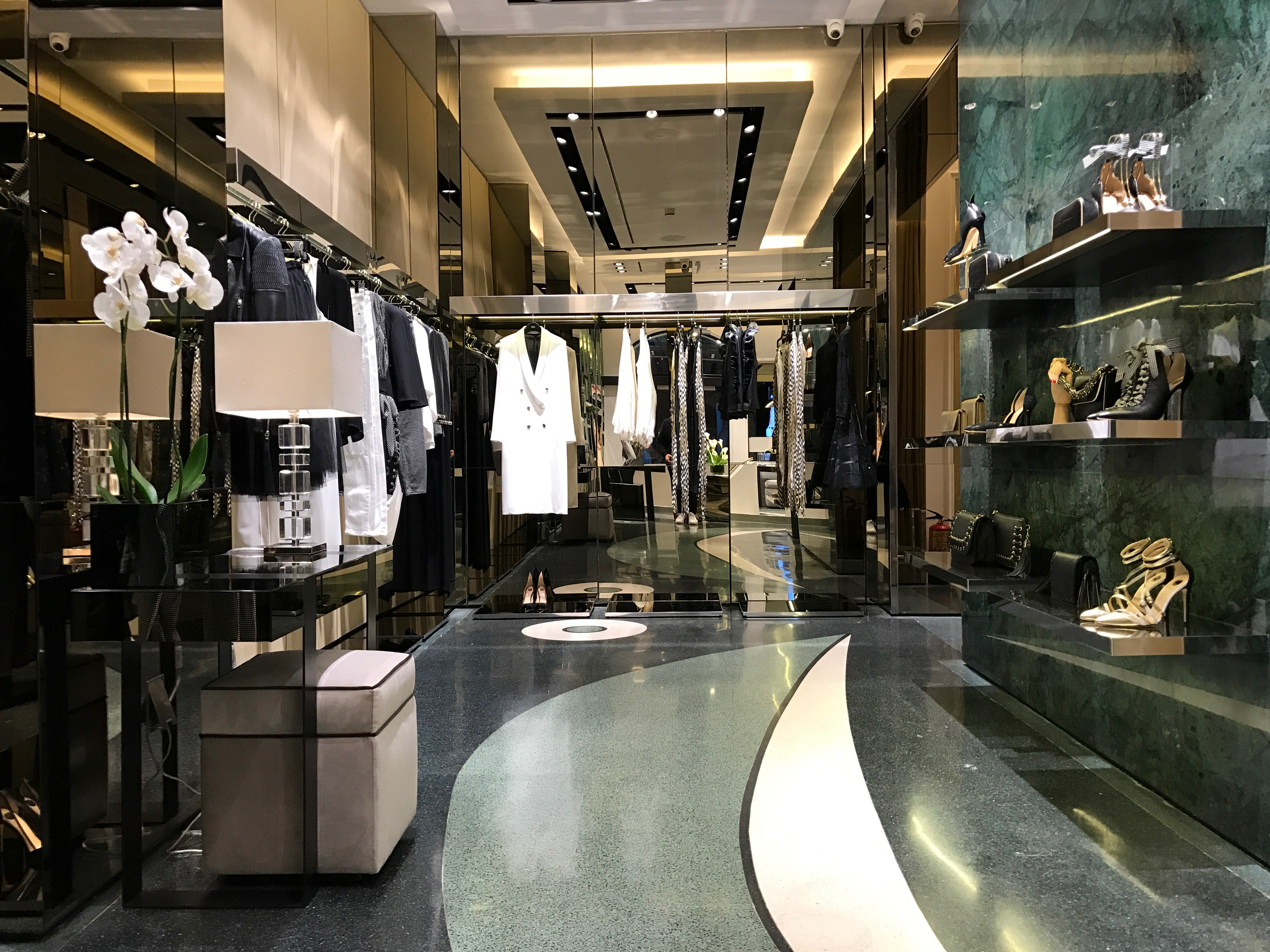 Elisabetta Franchi's store in Madrid.