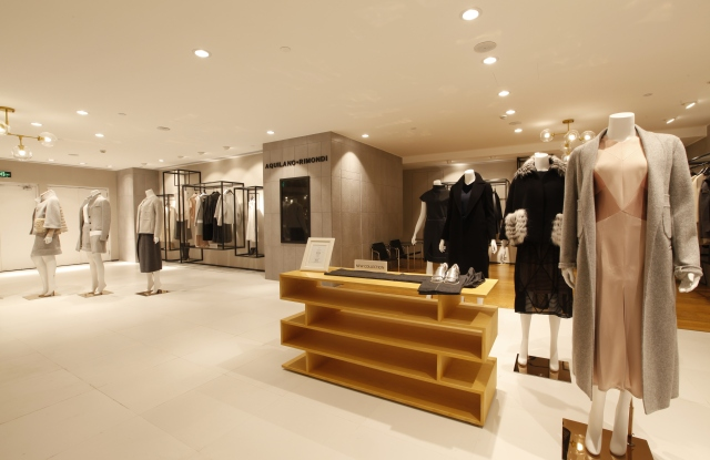 Aquilano.Rimondi store at Shanghai's Golden Eagle