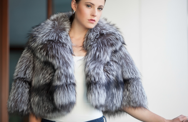 Lysa Lash designs furs that are meant to be easy to wear.